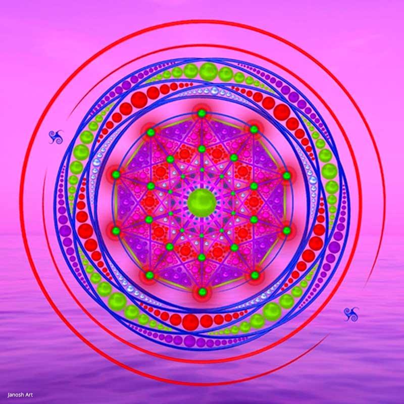 Geometria Sagrada Arcturiana Consciência de Unidade