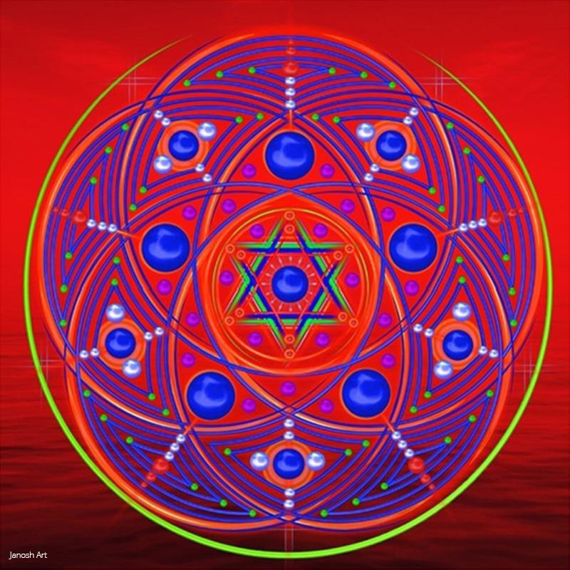 Geometria Sagrada - Convite