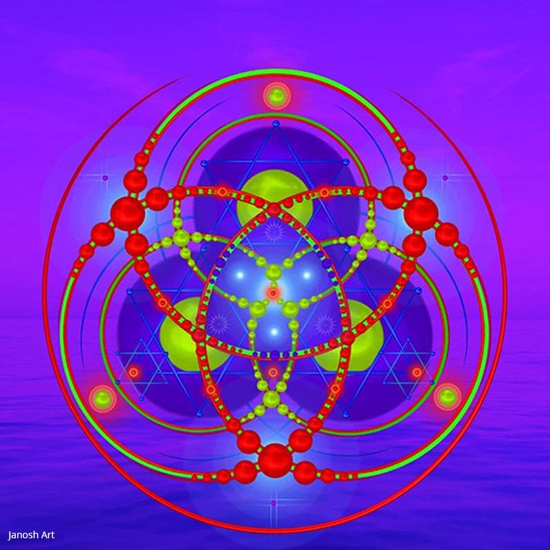 Geometria Sagrada Arcturiana Devoção