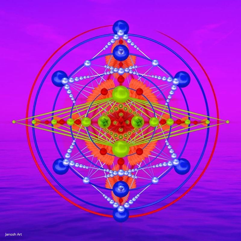 Geometria Sagrada Arcturiana Desdobramento | Janosh Art