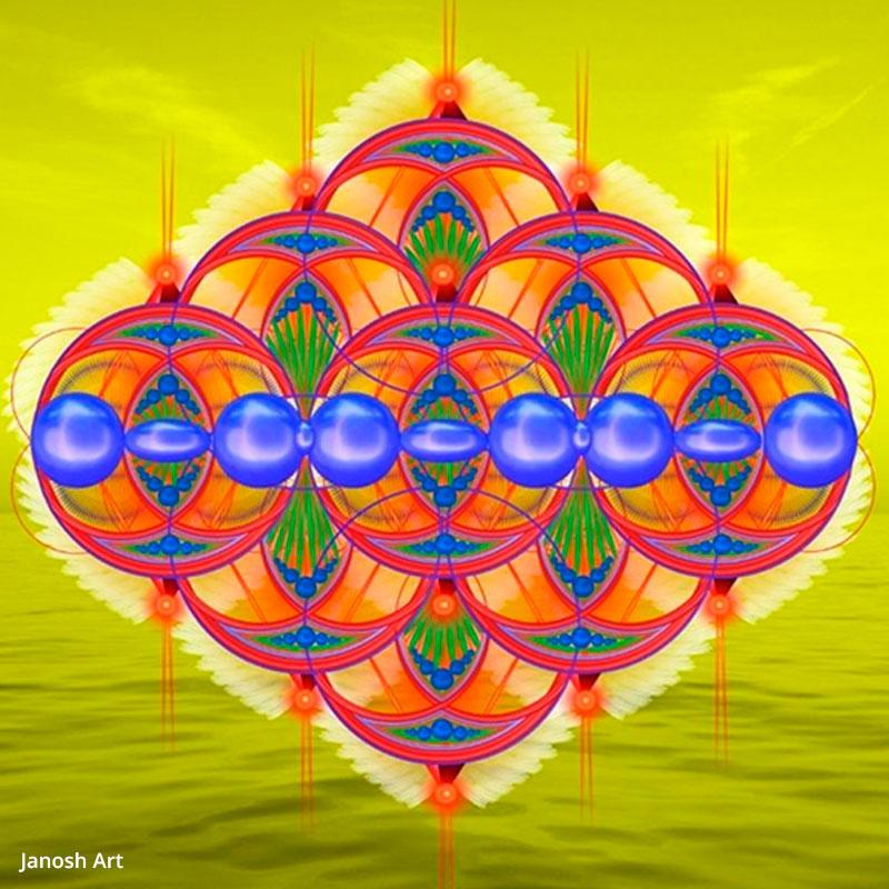 Geometria Sagrada Arcturiana Fluxo   Janosh Art