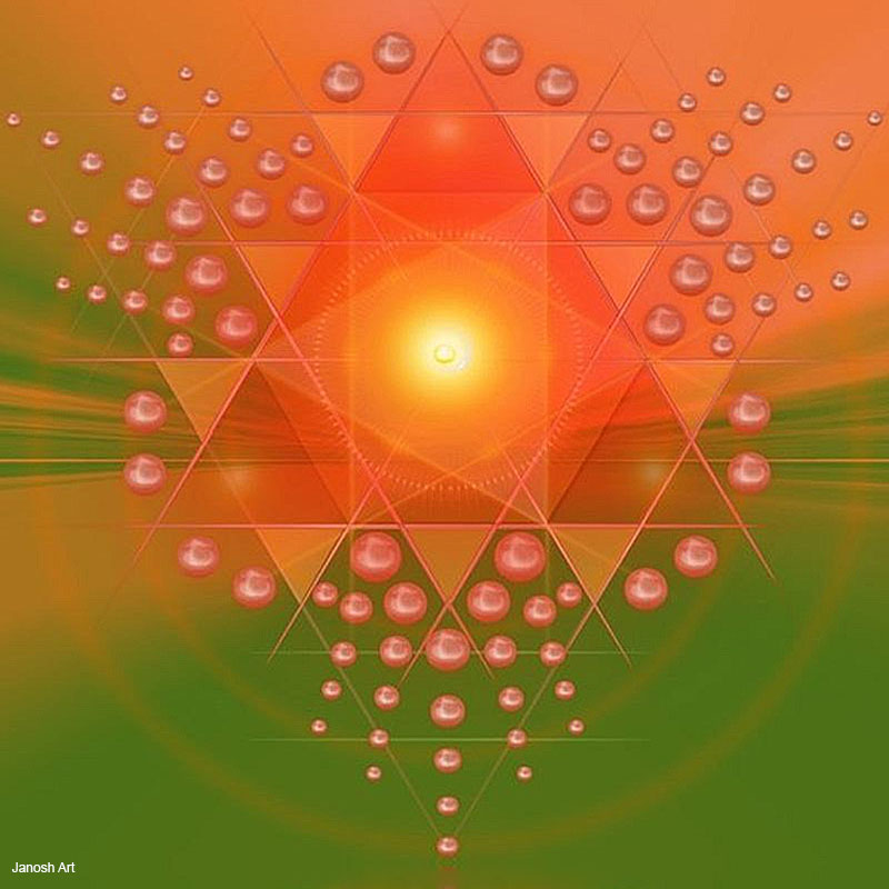 Geometria Sagrada Arcturiana Intenção | Janosh Art