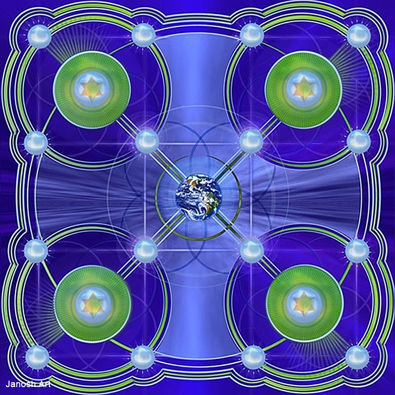 Geometria Sagrada Arcturiana Ituição | Janosh Art