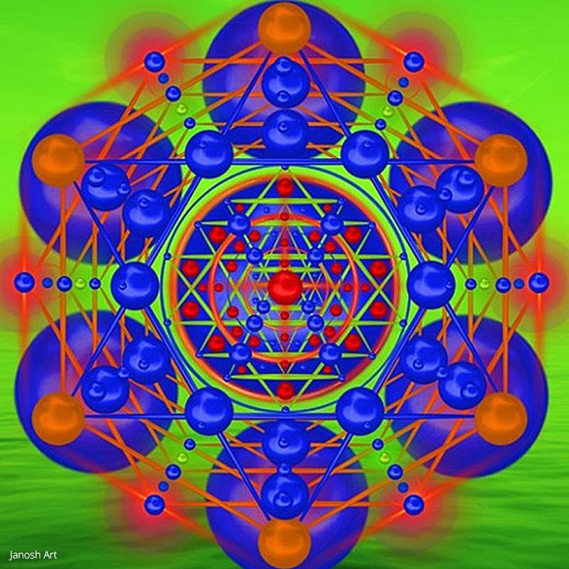 Geometria Sagrada Arcturiana Liberação   Janosh Art