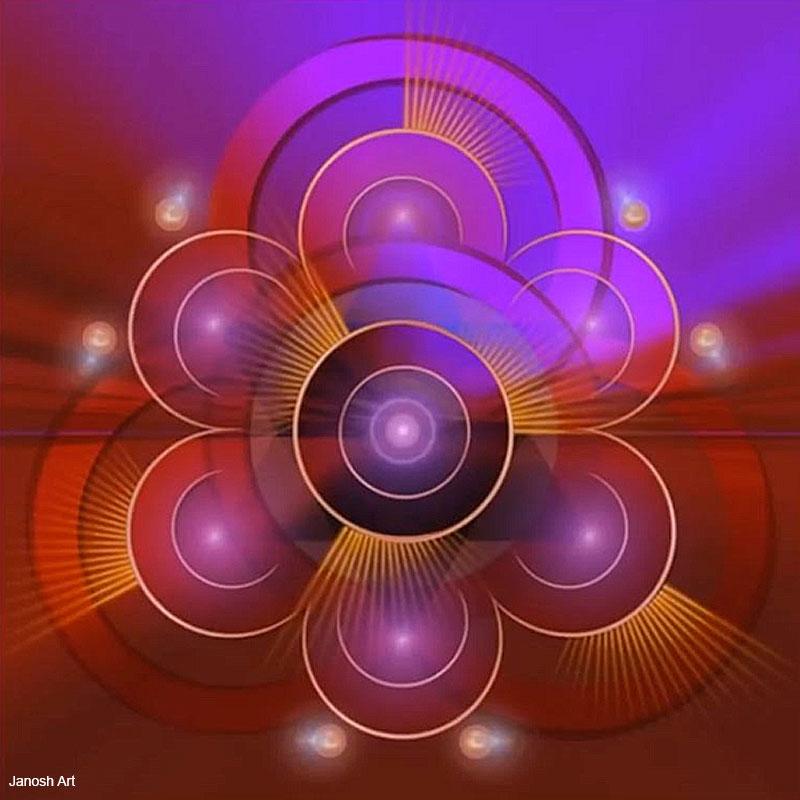 Geometria Sagrada Arcturiana Liberdade   Janosh Art