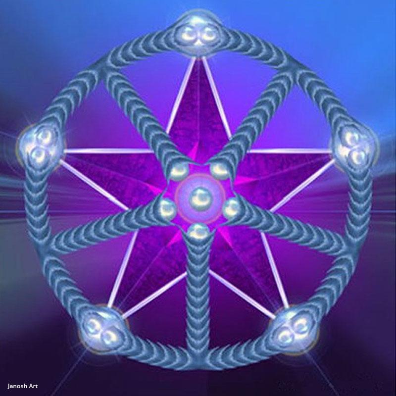 Geometria Sagrada Arcturiana Libertação | Janosh Art